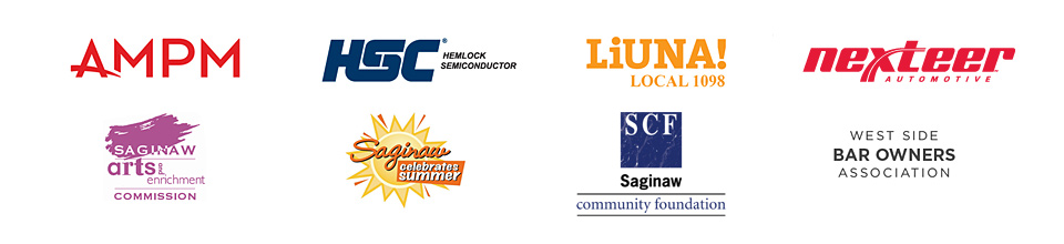 Star Sponsors 2016: LiUNA! | Saginaw Arts & Enrichment | AMPM Inc. | Hemlock Semiconductor | Saginaw Celebrates Summer